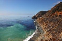 Azure ocean tide on the coast Royalty Free Stock Photo