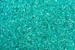 Azure salt for a bath. The texture of azure salt for a bath Royalty Free Stock Photography