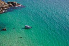 Azure sea Stock Images