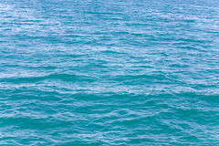 Azure sea water surface Stock Photo