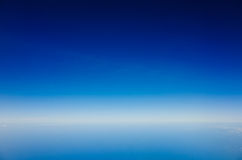 azure sky Royaltyfri Foto