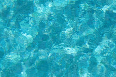 Azure water background Stock Image