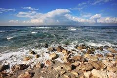 Azure waves Stock Photos