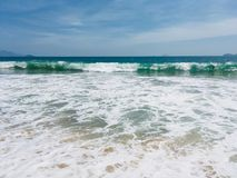 Azure waves of Vietnam royalty free stock images