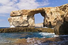 Azure window. Royalty Free Stock Images