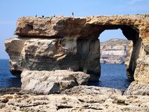 An Azure window Royalty Free Stock Image