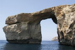 Azure window. At the gozo island Stock Image