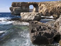 The Azure Window and Blue Hole Royalty Free Stock Image