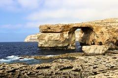 Azure Window em Gozo Imagem de Stock