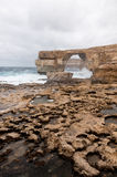 Azure Window, famous stone arch Stock Photography