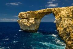 Azure Window Stock Image