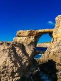 Azure Window Stock Photo