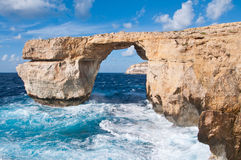 Azure window gozo Royalty Free Stock Photos