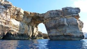 The Azure Window on Gozo island. Malta Stock Images
