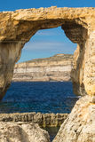 Azure Window, Gozo island, Malta Royalty Free Stock Photo