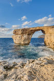 Azure Window in Gozo Island, Malta. Royalty Free Stock Image