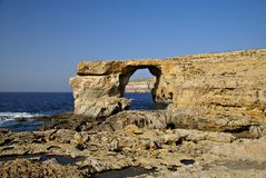 The Azure Window in Gozo Island Royalty Free Stock Image
