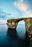Azure Window Gozo, Malta Royaltyfria Bilder