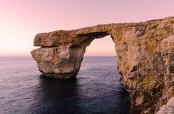 Azure Window - Gozo, Malta imagens de stock