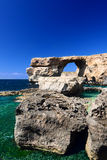 Azure Window on Gozo Malta Royalty Free Stock Photos