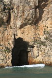 Azure Window Gozo Malta Royaltyfria Foton