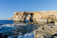 Azure Window - Gozo, Malta Stock Photography