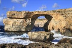 Azure Window, Gozo Malta Stock Photo