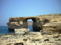 Azure window, Gozo, Malta Stock Photo