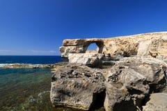 Azure Window Gozo Malta Royalty Free Stock Photo