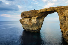 Azure Window, Gozo, Malta Royalty Free Stock Photography