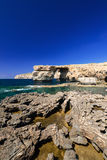 Azure Window on Gozo Malta vertical Royalty Free Stock Photography