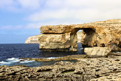 Azure Window in Gozo Stock Image
