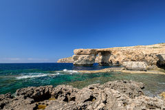 Azure Window horizontal Royalty Free Stock Photography