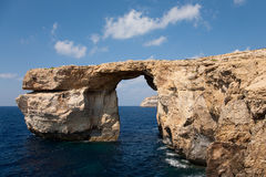 Azure Window on island Gozo Royalty Free Stock Photos