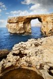 Azure Window, Island of Gozo Royalty Free Stock Image