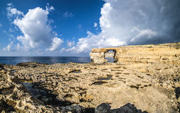 Azure window Malta on the island of Gozo. Azure window Malta on the island of Gozo Royalty Free Stock Photo