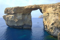 Azure Window rock arch Royalty Free Stock Photography