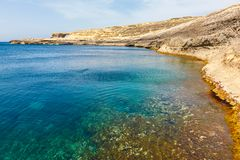 Azure Window, stone arch of Gozo, Malta Royalty Free Stock Photography