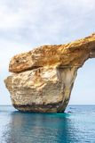 Azure Window, stone arch of Gozo, Malta Stock Photo