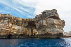 Azure Window, stone arch of Gozo, Malta Stock Photography