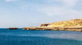 Azure Window, stone arch of Gozo, Malta Stock Image