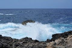 Azure Window sur l'île de Gozo Photo stock