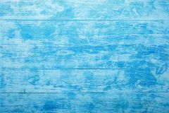 Azure wood background. For inscriptions and wishes, light blue, sea. stock photography