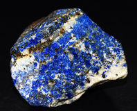 AZURITE. Beautiful shapes and natures designs Stock Photography