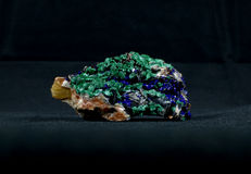 Azurite and Malachite Stock Photos