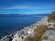 Azuurblauw van Tahoe royalty-vrije stock afbeelding