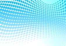 Azuurblauwe achtergrond Royalty-vrije Stock Fotografie