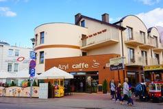 Azyl caffee Stock Photos