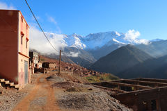 Azzaden Valley Trek. Village in the Atlas Mountains - Morocco Royalty Free Stock Image