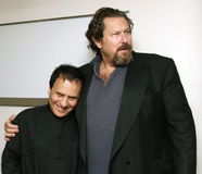 Azzedine Alaia and Julian Schnabel Royalty Free Stock Images